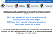 ☺☺Secrets To Dog Training☺☺